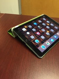 iPad Air 2 on home screen